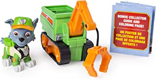 PAW Patrol Ultimate Rescue Rocky's Mini Crane Cart with Collectible Figure, Ages 3 and Up