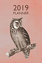 Owl 2019 Planner: Weekly Organizer and Notebook: Vintage Design