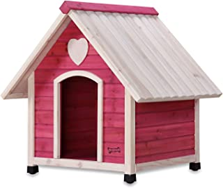 Pet Squeak Princess Pad Dog House, Medium, Pink