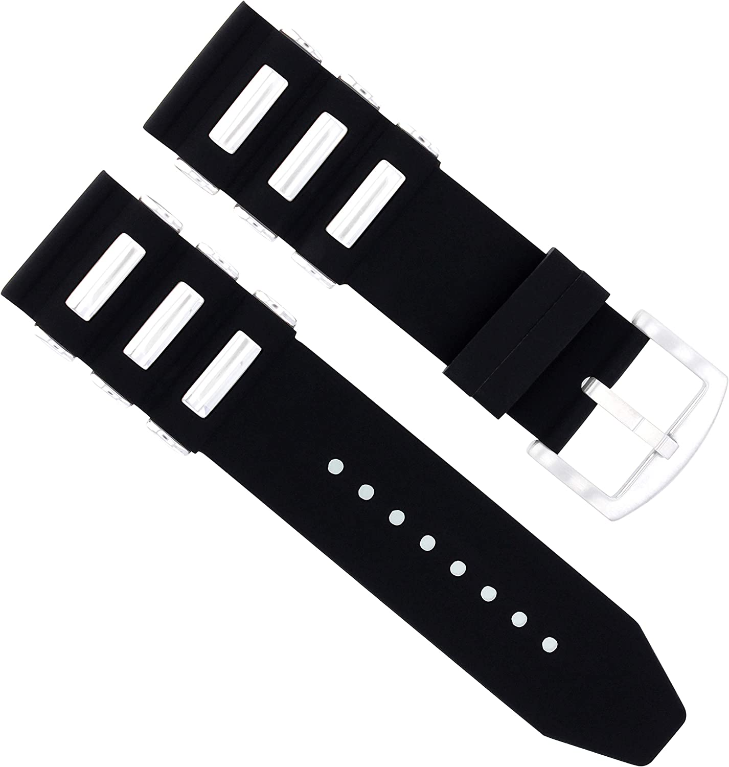 22mm Rubber Diver Strap Band Direct sale of manufacturer Timewalke Recommendation Compatible with Montblanc