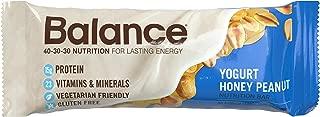 Balance Bar, Healthy Protein Snacks, Yogurt Honey Peanut, 1.76 oz, 6 Count