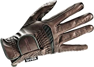 Uvex Twinflex Riding Gloves 8.5 Brown