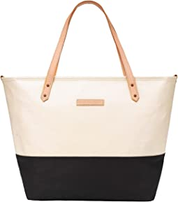 Glazed Color Block Downtown Tote