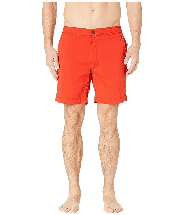 onia Calder 7.5 Swim Shorts (Flame) Men