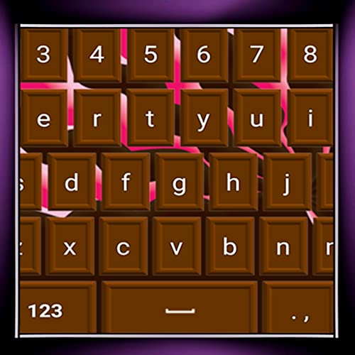 Schokoladen-Tastaturen