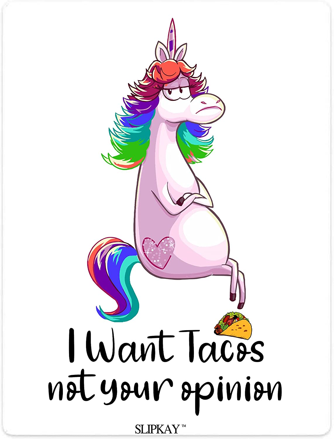 Unicorn I Want Tacos Not Opinion Ultra-Cheap Deals Quilt Fees free Blanket Your