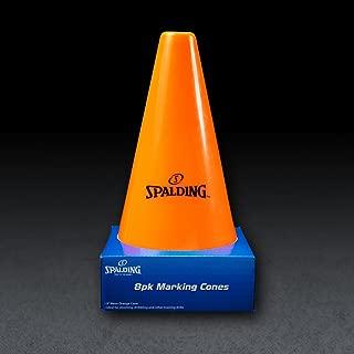 Spalding Training Cones (8-Pack),  Orange