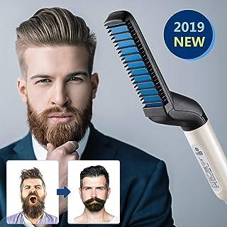 DIOVERDE Beard Straightener, Beard Straightener and Hair Straightener, Best Heat Beard Straightener and Hair Straightener Brush