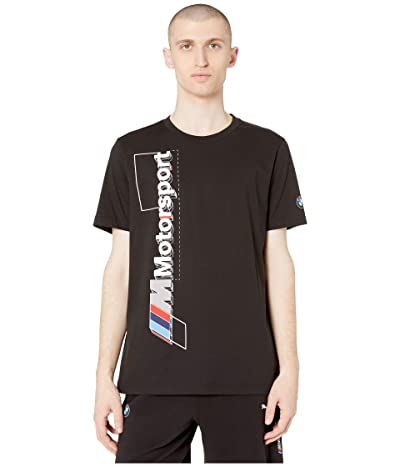 PUMA BMW MMS Logo Tee+ (PUMA Black) Men