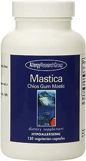 Allergy Research Group Mastica Chios Gum Mastic - 500 mg - 120 Capsules
