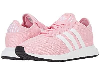 adidas Originals Kids Swift ESS C (Little Kid) (Light Pink/Footwear White/Core Black) Girls Shoes