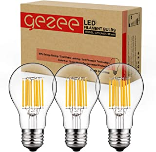 Coffee Shop LED Flame Bulb Hotel Night Clubs Restaurant DOMEZAN E26 Flickering Flames Effect Light 99pcs 2835 LED Beads Vintage Atmosphere for Bar