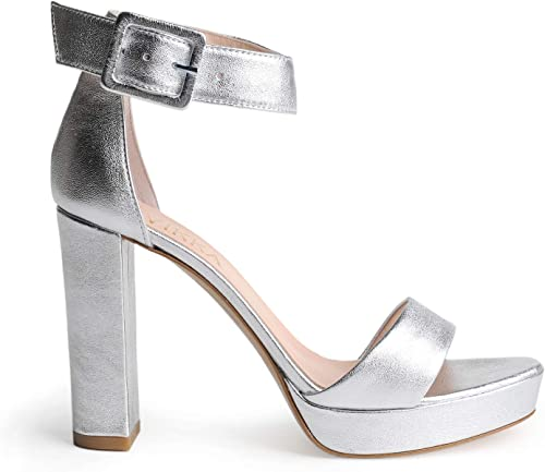 Vivikka Italienische Damen Damen Damen Plateau-Sandaletten aus Echtem Leder - Modische Abendschuhe  beste Mode