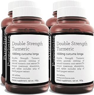 Double Strength Turmeric - Massive 1000mg x 720 Tablets -