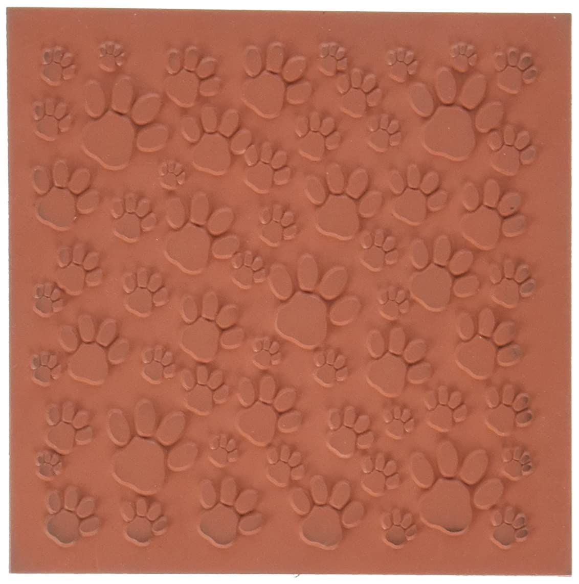 Jewelry Artist Supply Paw Prints Texture Mat - 3