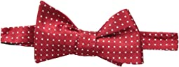 Red Dots Self-Tie Bow Tie