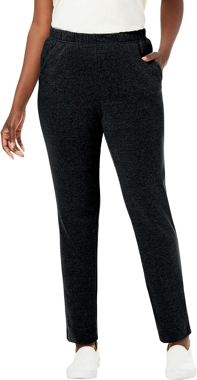 Jessica London Women's Plus Size Soft Ease Pant