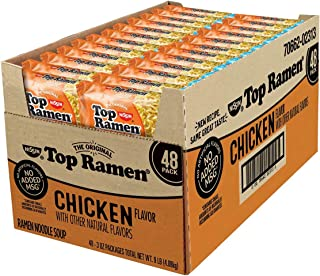 Nissin Top Ramen, Chicken Flavor 3 oz. ea, 48 ct. A1