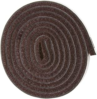 Self Adhesive Felt Furniture Pads: Furniture Sliders for Hardwood Floors, Chair Leg Floor Protectors, Heavy Duty Felt Strip Roll for All Hard Surfaces, 1/2