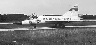 Home Comforts 526th Fighter-Interceptor Squadron Convair F-102 Delta Dagger 56-1252 Vivid Imagery Laminated Poster Print 24 x 36
