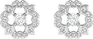 Sparkling Flower Pierced Earrings 5396227