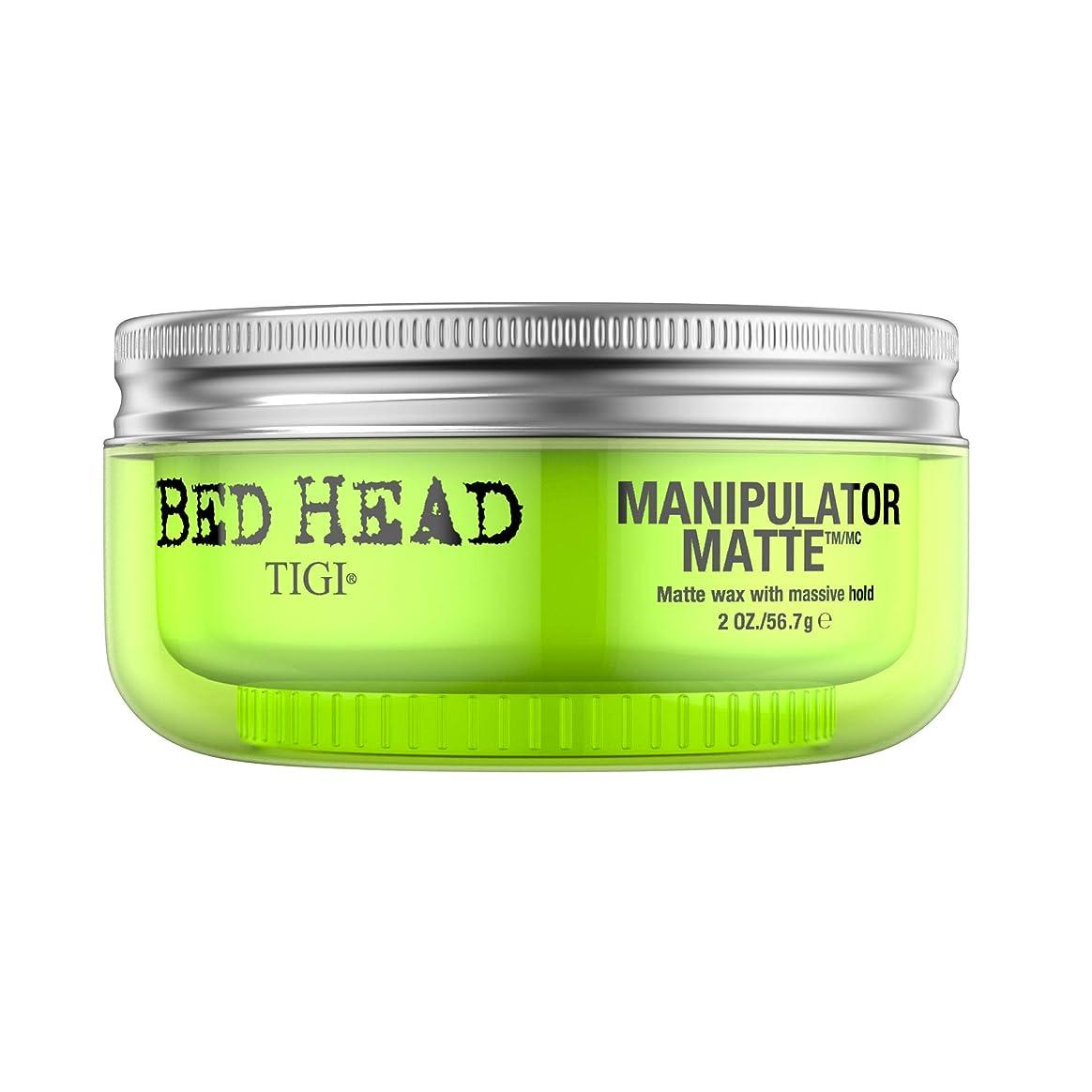 姉妹葉っぱコショウティジー Bed Head Manipulator Matte - Matte Wax with Massive Hold 57.2g/2oz [海外直送品]