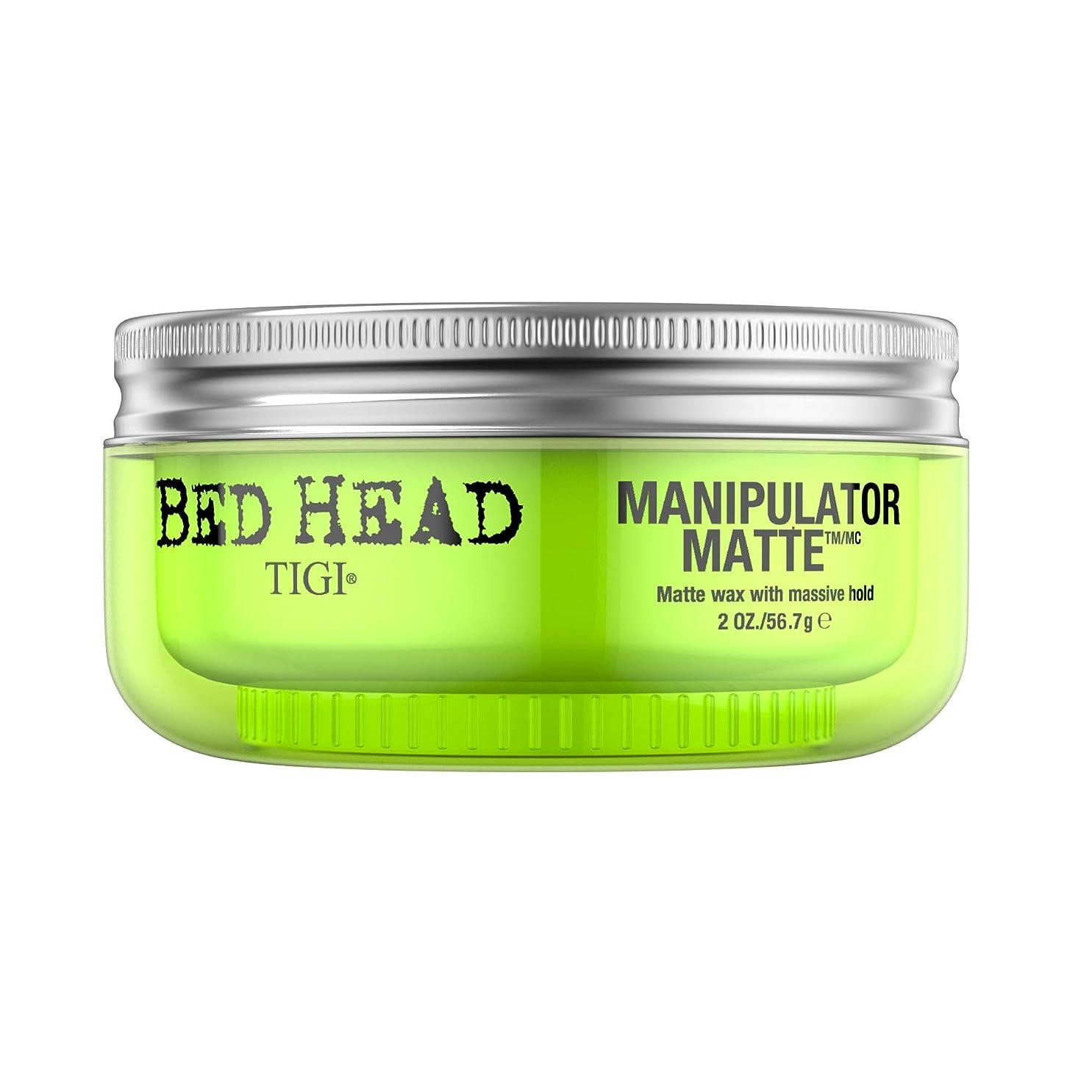 スロープ物理大佐ティジー Bed Head Manipulator Matte - Matte Wax with Massive Hold 57.2g/2oz [海外直送品]