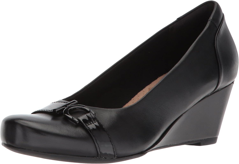 Clarks Flores Poppy, Damen Pumps schwarz schwarz schwarz schwarz Leather  ce9222