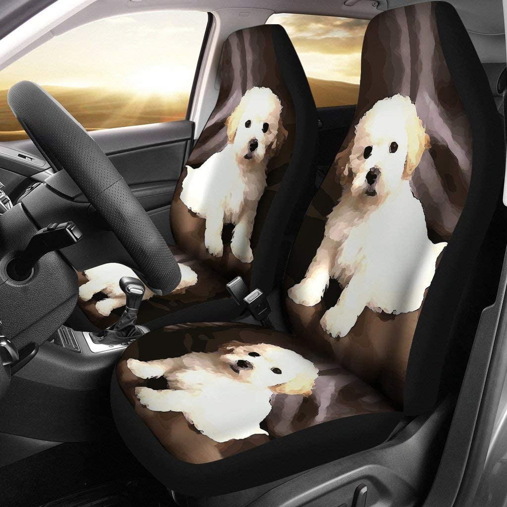 Denver Mall Pawlice Shih Poo Dog Covers Soldering Car Seat Print