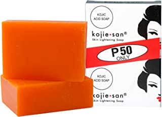 KOJIE SAN Skin Lightening Kojic Acid Soap, 2 Bars, 135 g