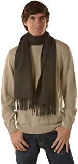 KUNA Adrian Solid Color Unisex Scarf with fringes | 100% Baby Alpaca from Peru | Ethically Sourced | Limited Production