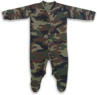 100% Cotton Baby All in one Jumpsuit - Camo