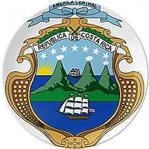Costa Rica - Plato de postre decorativo de porcelana de 20 cm
