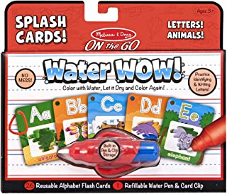 Melissa and Doug Water Wow Splash Cards Alphabet 5236 - Arts and Crafts