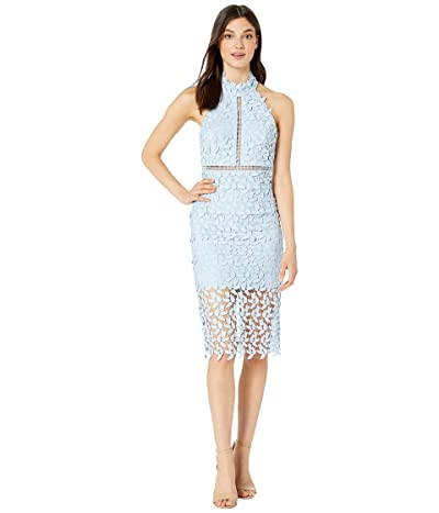 Bardot Gemma Halter Dress (Pastel Blue) Women
