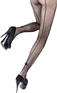 Yelete Killer Legs Women's One/Plus Size Patterned Fishnet Tights Stocking Pantyhose