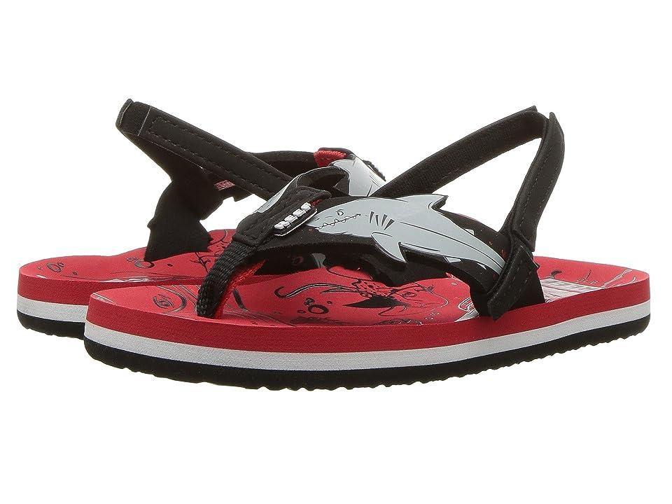 Reef Kids Ahi Shark (Infant/Toddler/Little Kid/Big Kid) (Red Shark) Boys Shoes