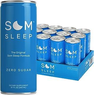 Som Sleep, The Original Sleep Support Formula w/ Melatonin, Magnesium, Vitamin B6, L-Theanine & GABA – Non-GMO, Vegan, Glu...