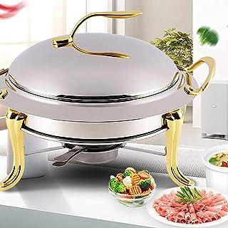 YQZ Buffet Warmers Chafing Server Set, Chauffe-Plats, pour banquets de Cuisine de fêtes, Ensemble de buffets en Acier Inox...
