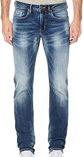 Buffalo David Bitton Men's Evan-x Slim Straight Fit Denim Jean