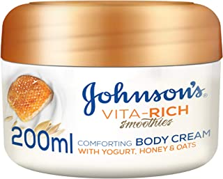 جونسون، كريم للجسم، Vita-Rich، سموذي، راحة، 200 مل