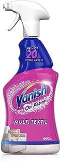 Vanish Gold Multi textielreiniger voor kussens, autostoelen en kinderwagens – textielreinigingsspray tegen vuil en geuren ...