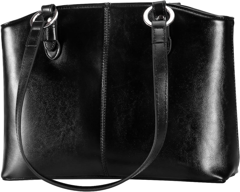 DanPi Women's Tote Bags Leather Large Handbags Work Shoulder Bags