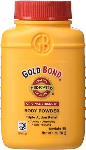 Gold Bond Medicated Body Powder Original Strength, 1 Ounce