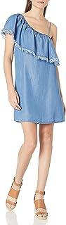 Splendid Women's Indigo One Shoulder Dress