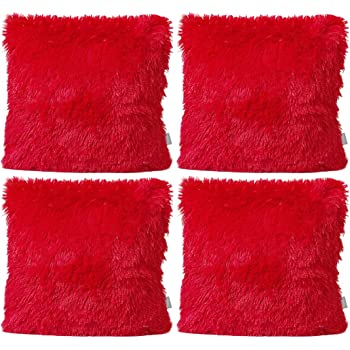Sea Soft Lion Velvet Throw Pillow Case