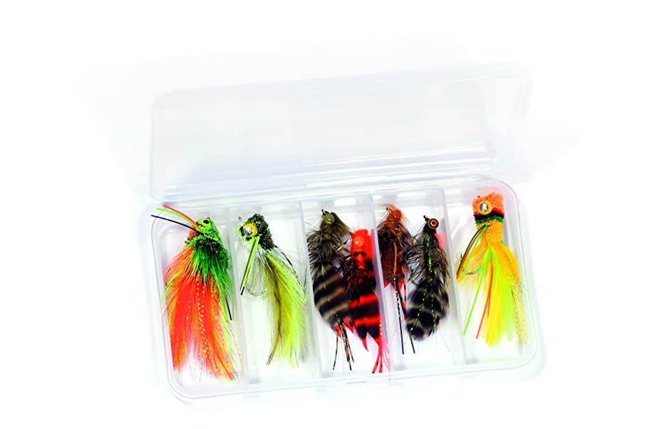 Rainy's Bass Fly Fishing Flies Kit - Dave Whitlock - Collection of 7 Flies