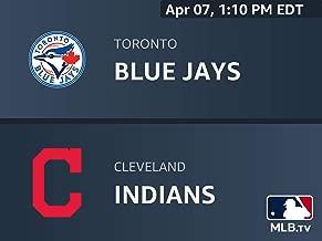 Toronto Blue Jays at Cleveland Indians