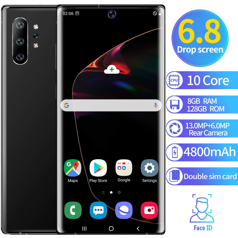XGLL Teléfono Móvil 6.5 Pulgadas FHD 10 Core 8GB RAM + 128GB ROM ...