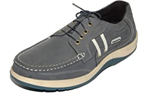 Maplewood Leeds Grey Casual Shoes for Men